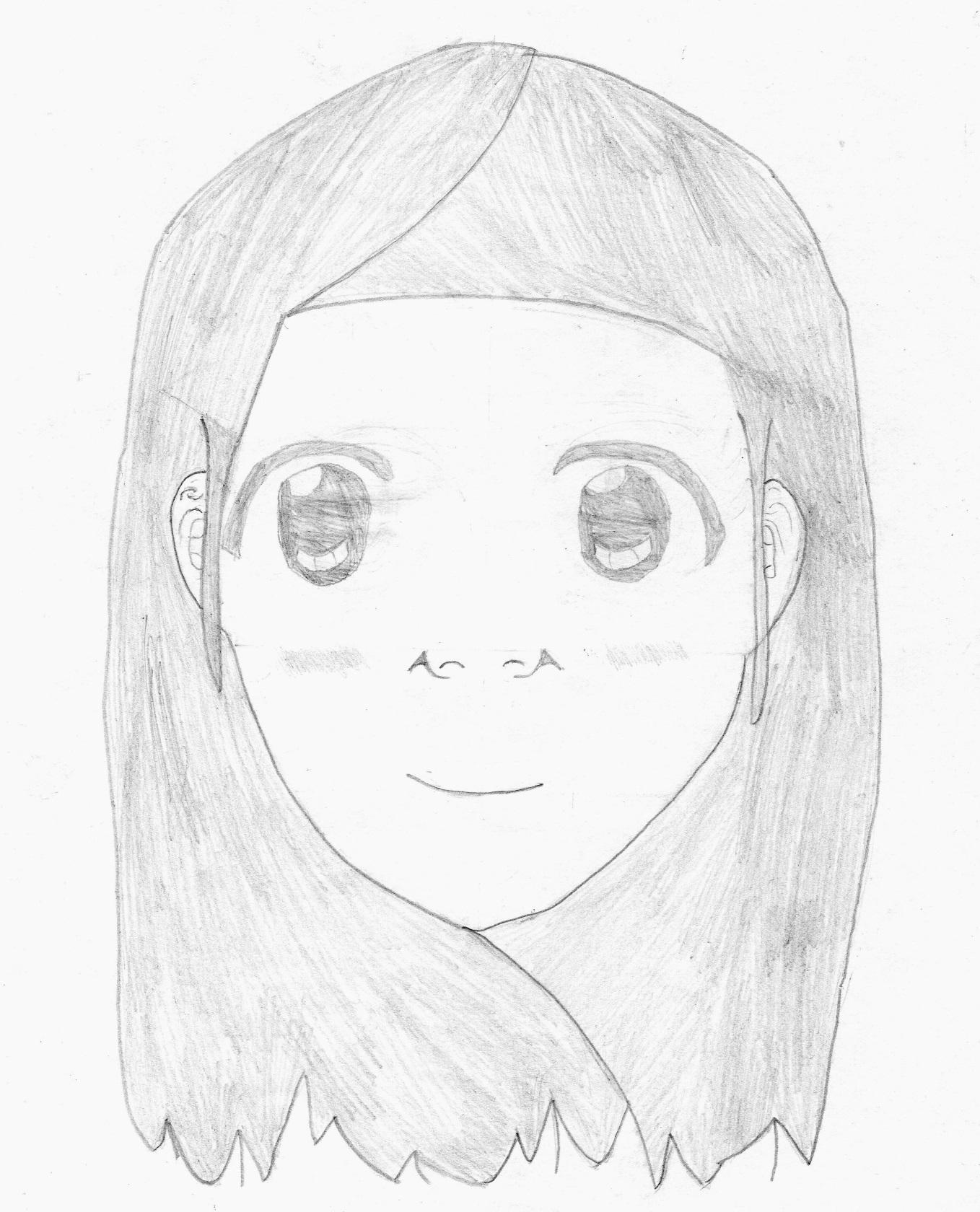 Jeune Fille Manga Valentin