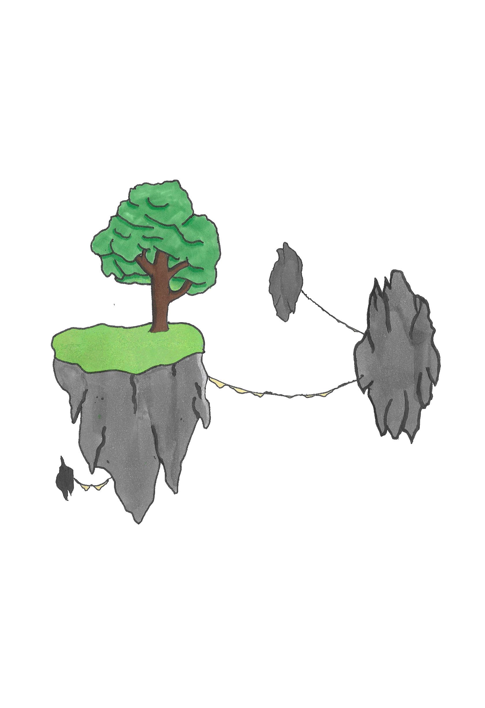 Ile Volante île volante dessin – valentin